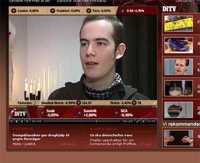 Ful-David på DT-TV