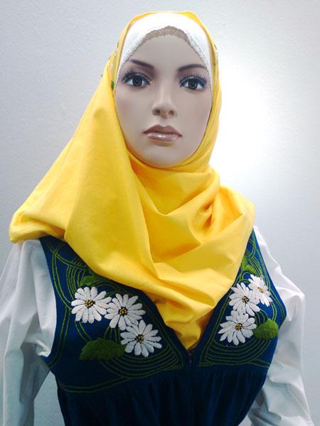 Sverigedräkt med hijab