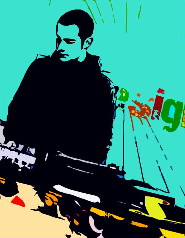 Daid K Frimark DJ på Slick