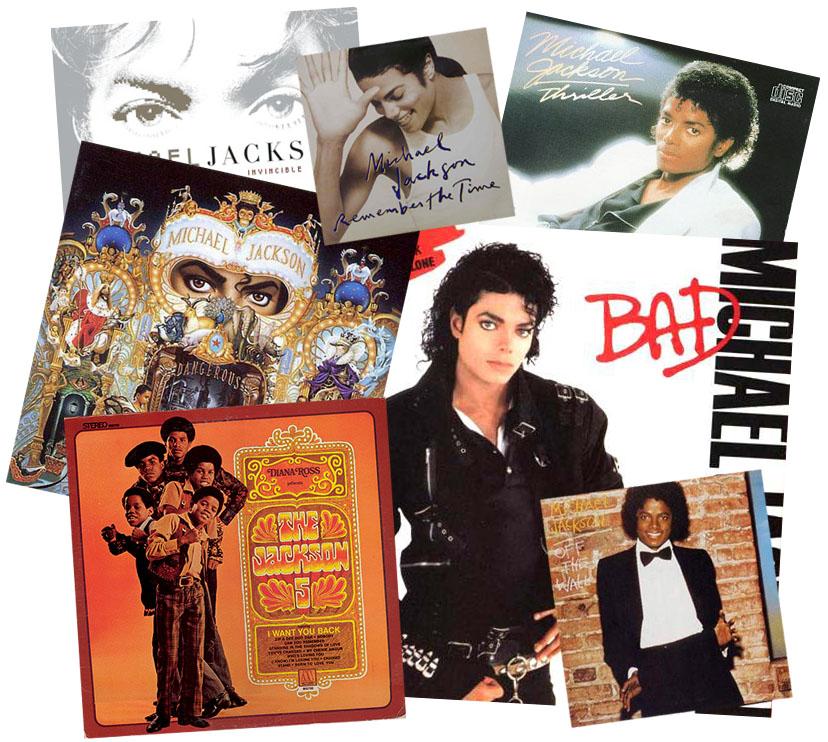 Michael Jackson albumcollage